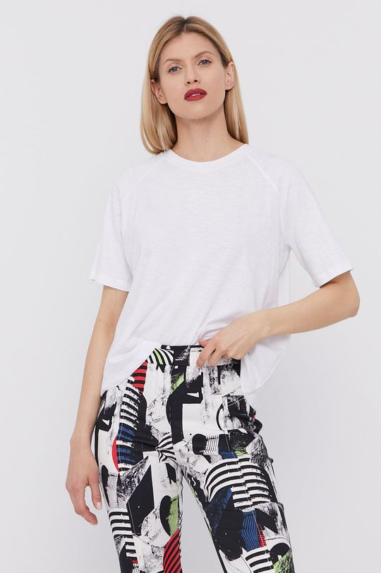 biały BIMBA Y LOLA - T-shirt Damski