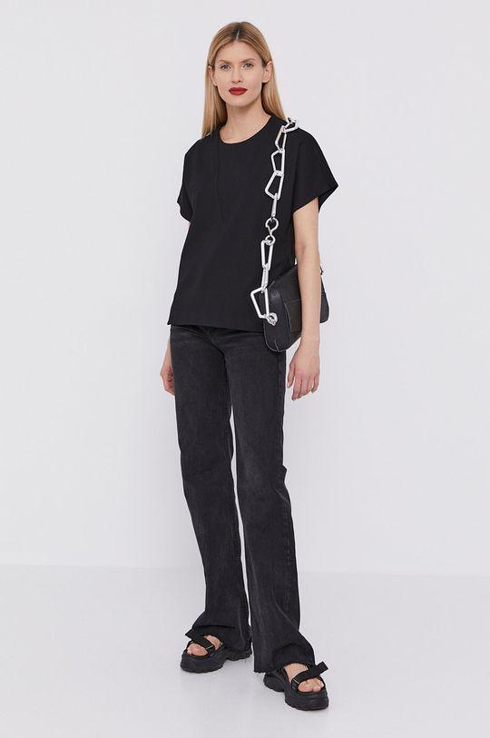 BIMBA Y LOLA - T-shirt czarny