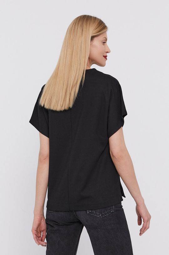 BIMBA Y LOLA - T-shirt 5 % Elastan, 27 % Poliamid, 68 % Wiskoza