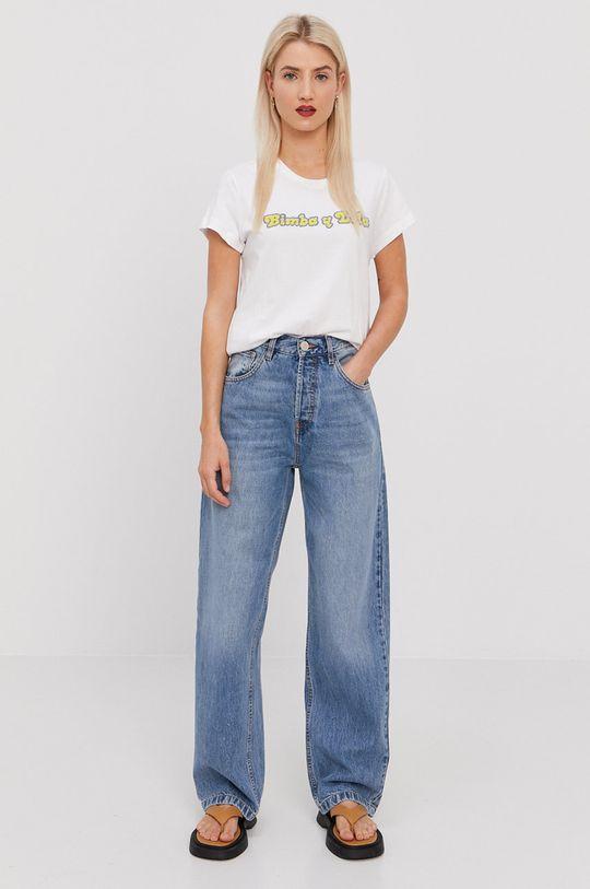 BIMBA Y LOLA - T-shirt biały