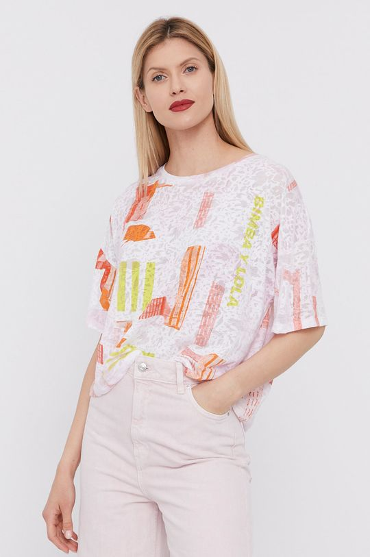 różowy BIMBA Y LOLA - T-shirt Damski