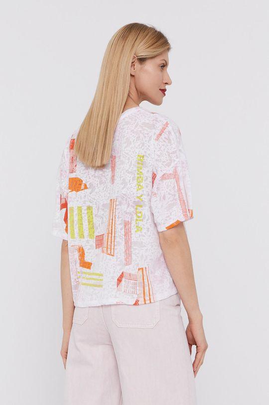 BIMBA Y LOLA - T-shirt 60 % Bawełna, 40 % Poliester