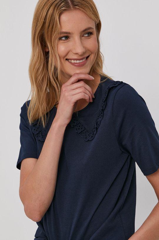 granatowy Jacqueline de Yong - T-shirt