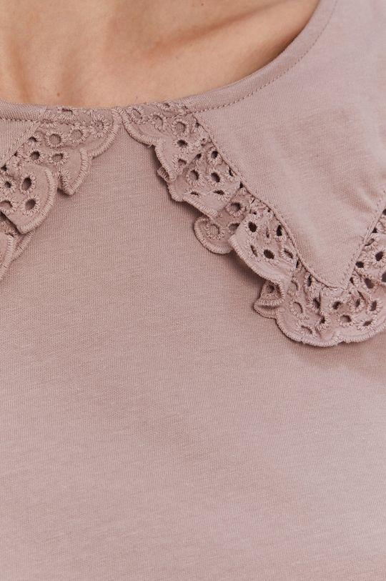stalowy fiolet Jacqueline de Yong - T-shirt