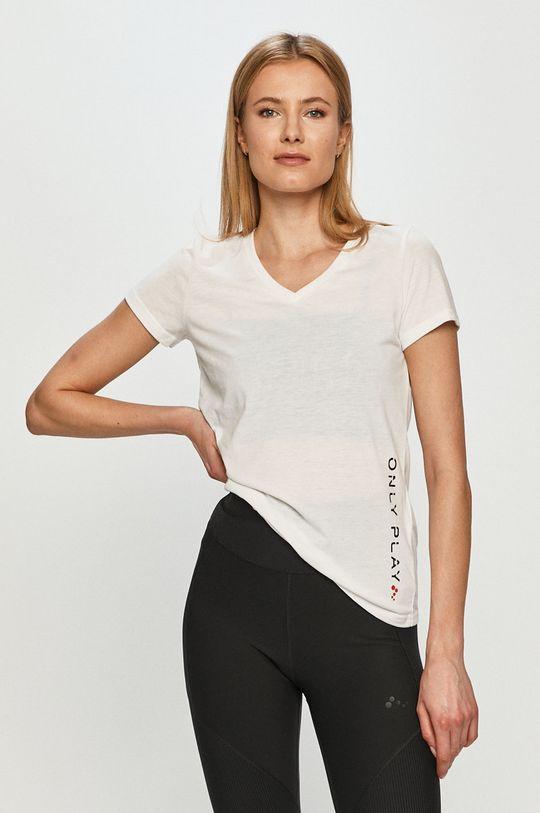 biały Only Play - T-shirt Damski