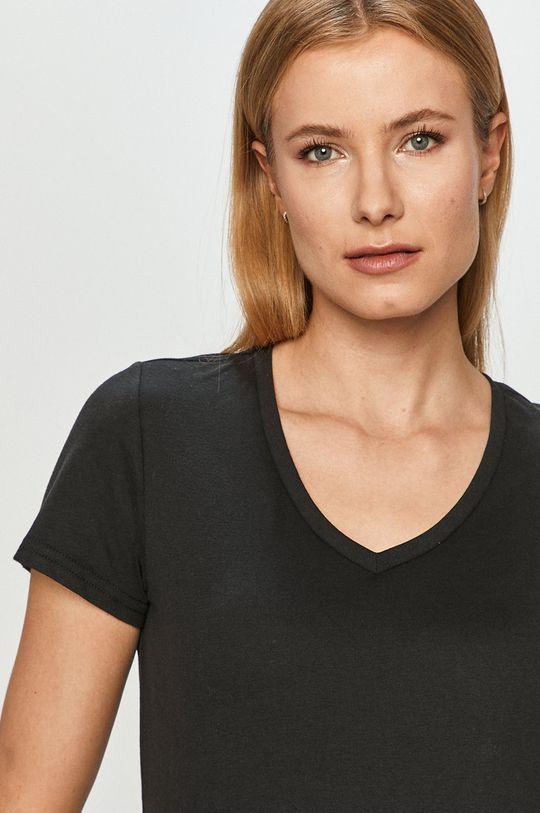 czarny Only Play - T-shirt