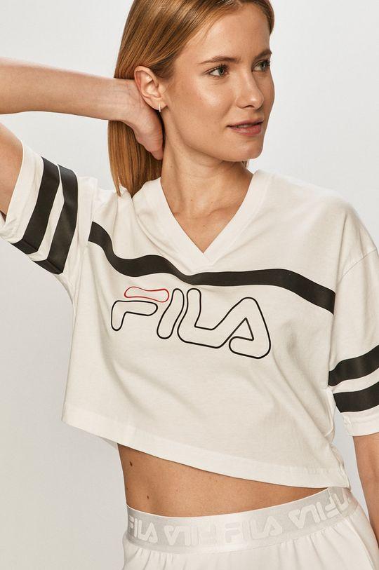 biały Fila - T-shirt