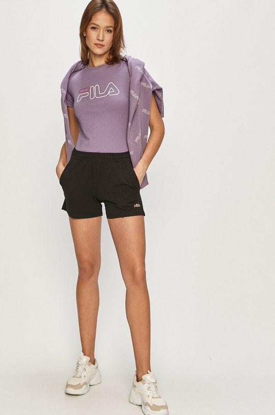 Fila - T-shirt winogronowy