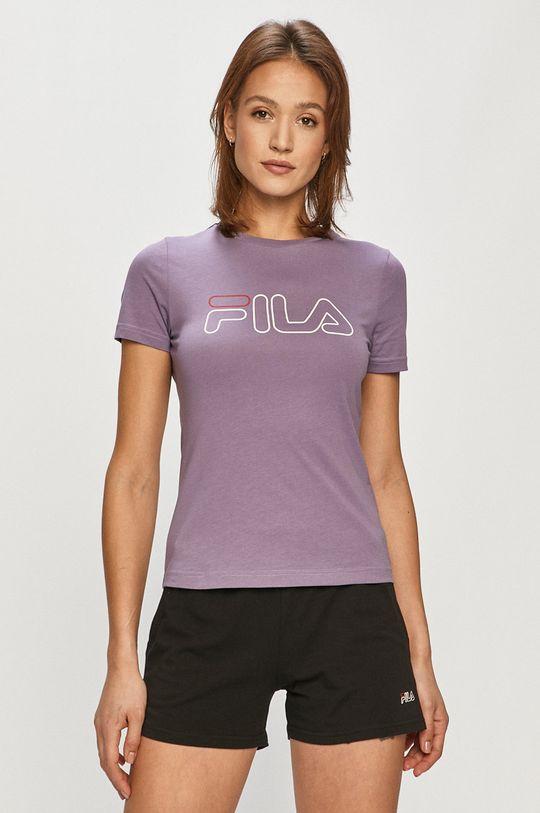 winogronowy Fila - T-shirt