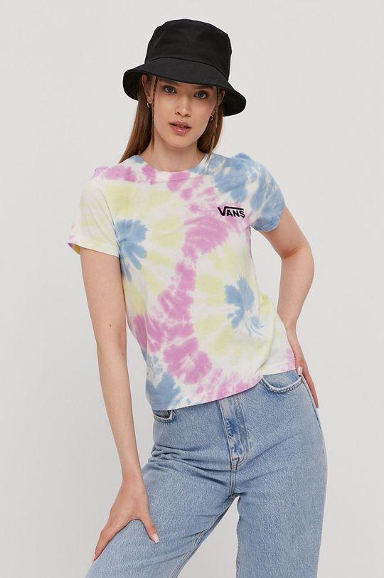 multicolor Vans - T-shirt Damski
