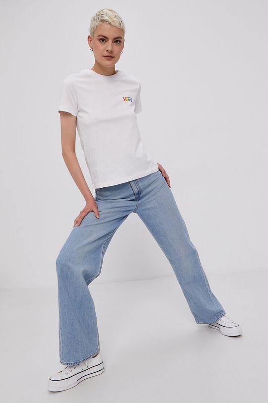 Vans - T-shirt PRIDE biały