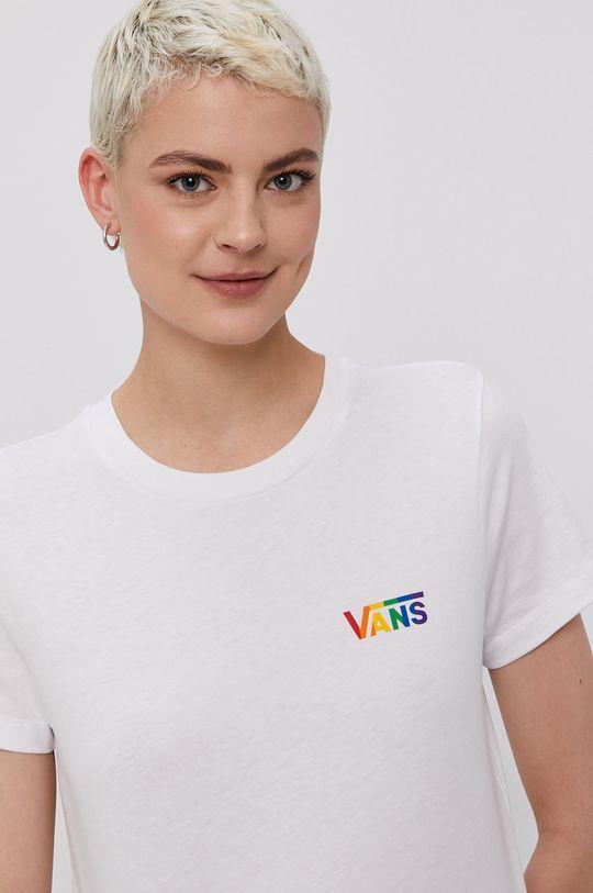 biały Vans - T-shirt PRIDE