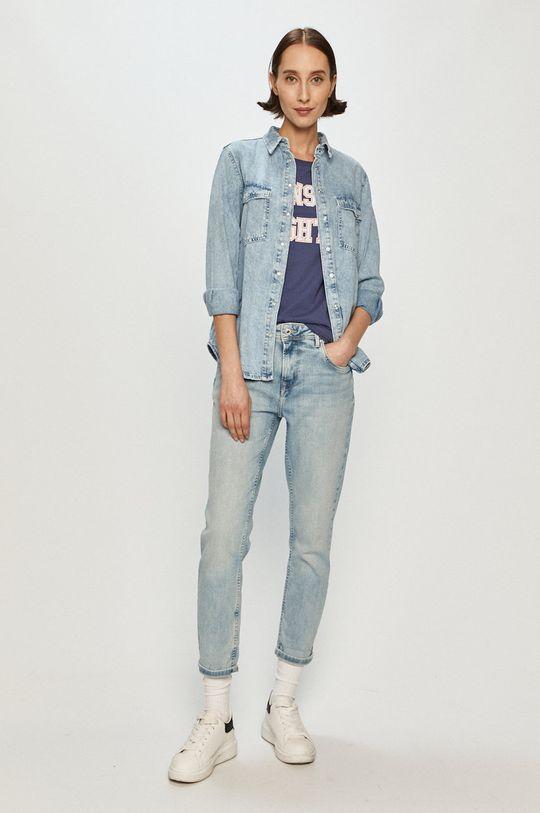 Pepe Jeans - Tričko Florence námořnická modř