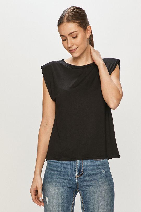 czarny Haily's - T-shirt Damski