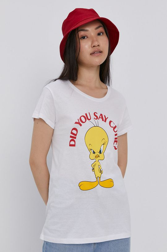 bílá Haily's - Tričko x Looney Tunes Dámský