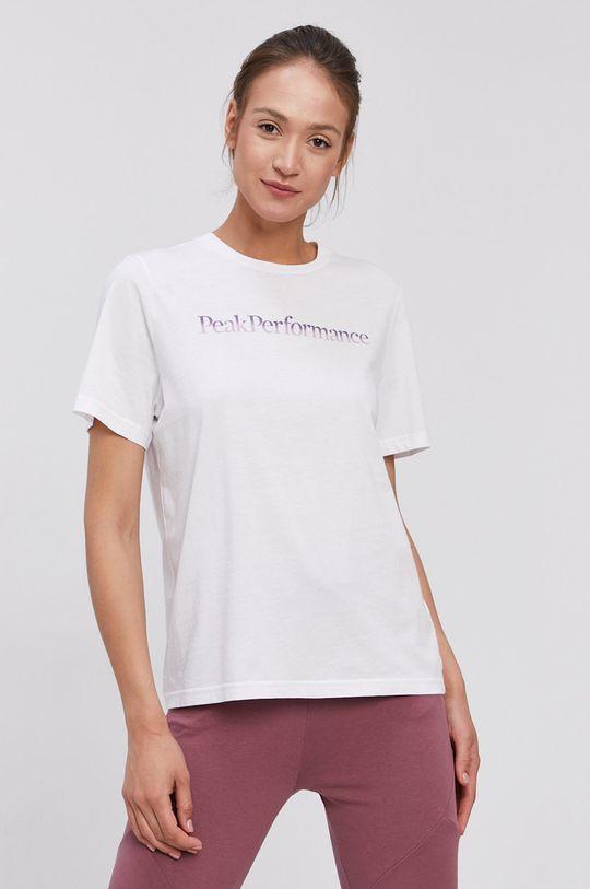 Peak Performance - T-shirt biały