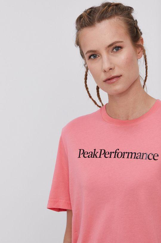 ružová Peak Performance - Tričko