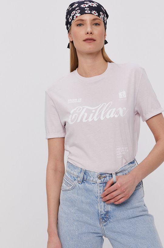 lawendowy Tally Weijl - T-shirt Damski