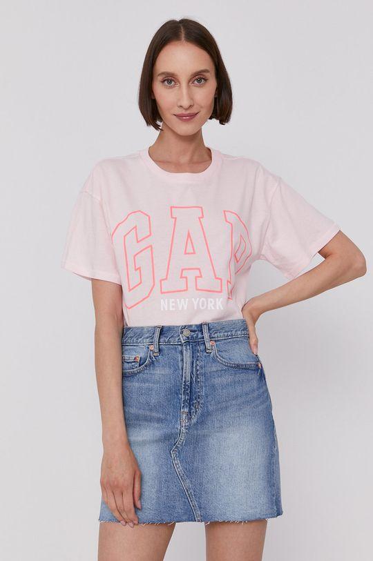 pastelově růžová GAP - Tričko Dámský