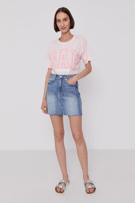 GAP - Tričko pastelově růžová