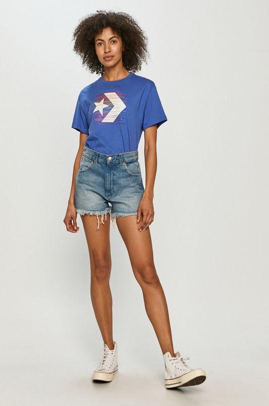 Converse - T-shirt niebieski
