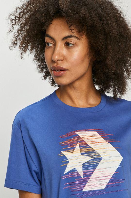 niebieski Converse - T-shirt