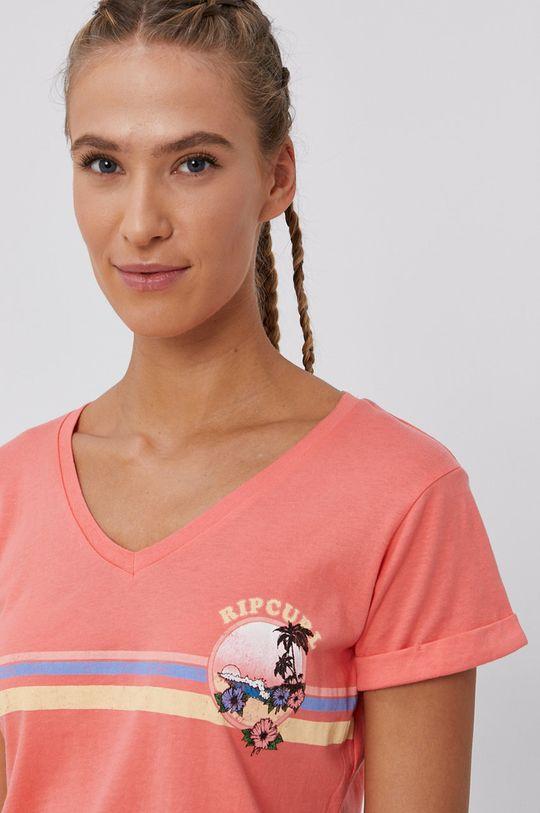 ostry różowy Rip Curl - T-shirt