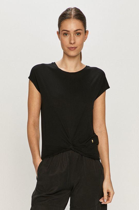 czarny Deha - T-shirt Damski