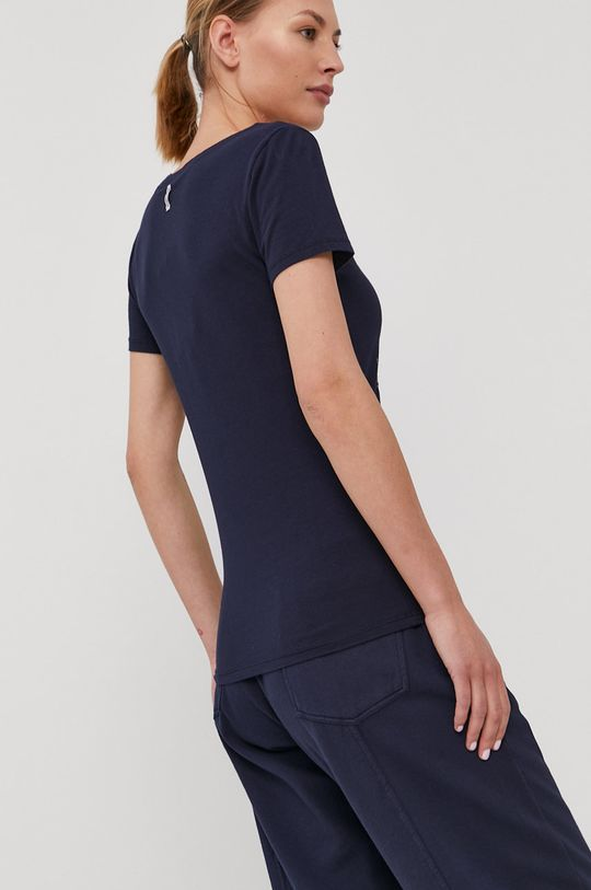 Deha - T-shirt Materiał 1: 93 % Bawełna, 7 % Elastan, Materiał 2: 100 % Bawełna