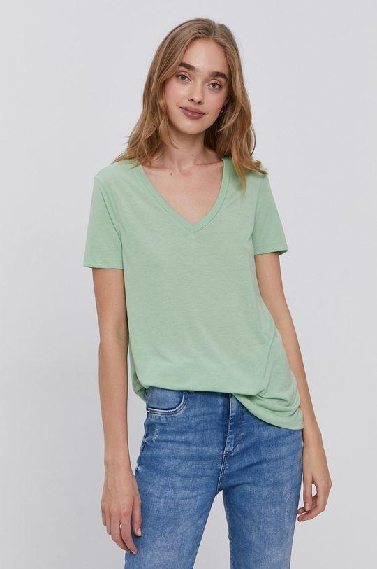 světle zelená Vero Moda - Tričko Dámský