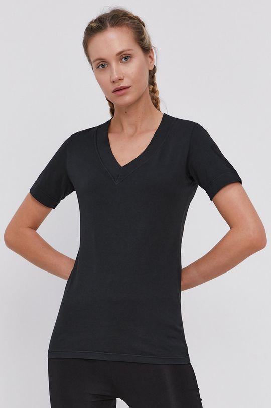 czarny Rossignol - T-shirt Damski