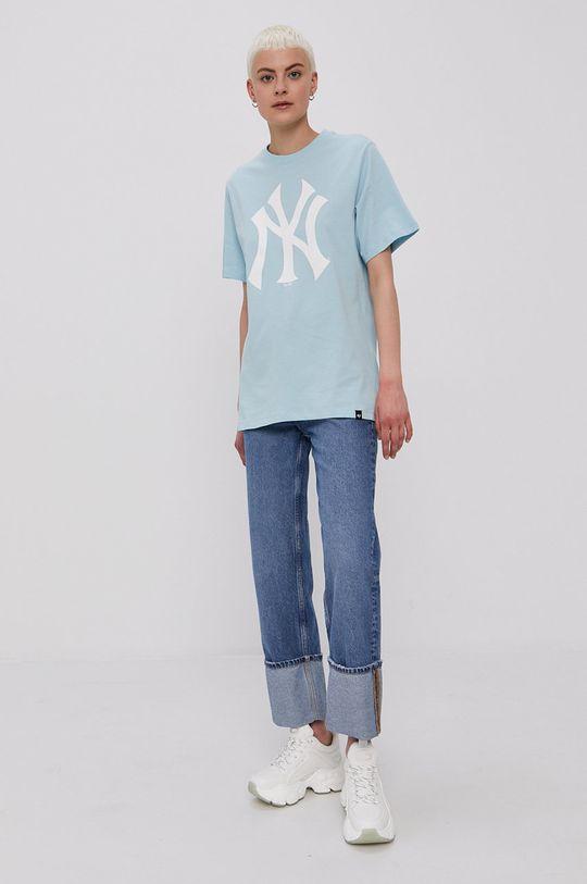 47brand - T-shirt jasny niebieski