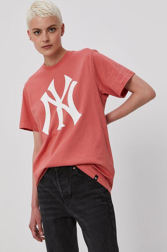 47brand - Tričko ružovo-červená