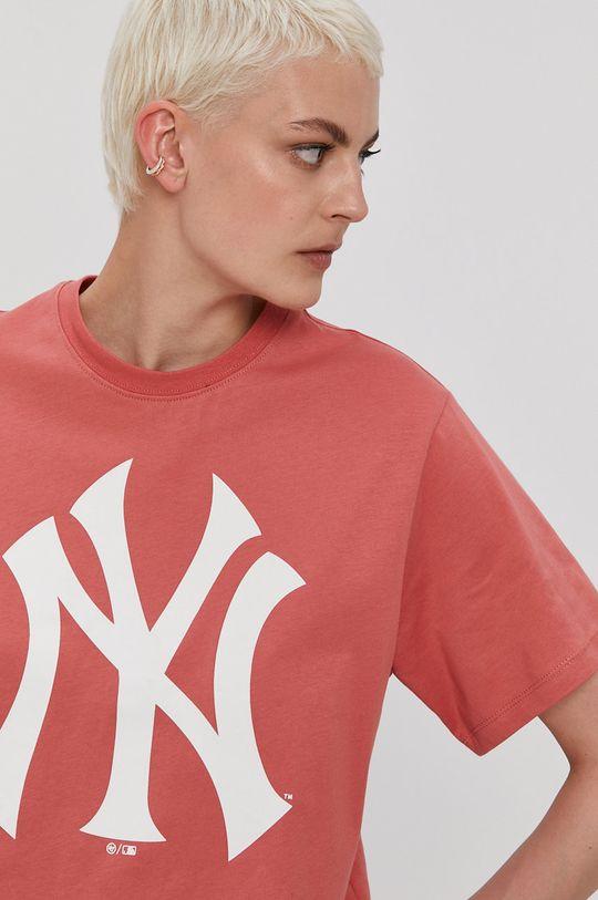 ružovo-červená 47brand - Tričko