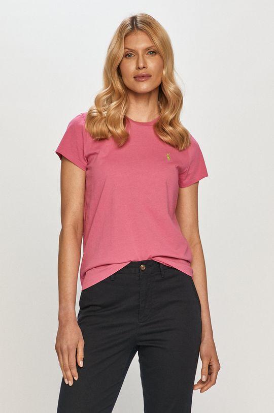 růžová Polo Ralph Lauren - Tričko Dámský