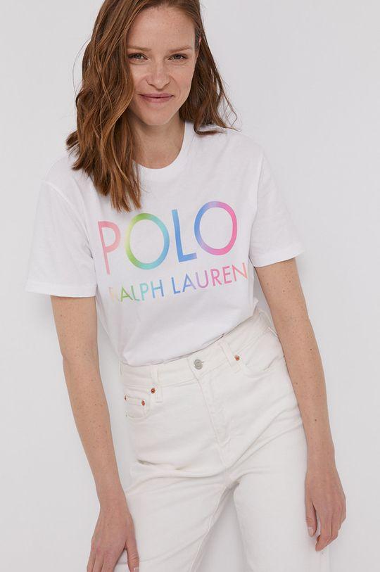 biały Polo Ralph Lauren - T-shirt Damski