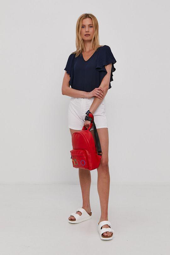 Vero Moda - Bluzka granatowy