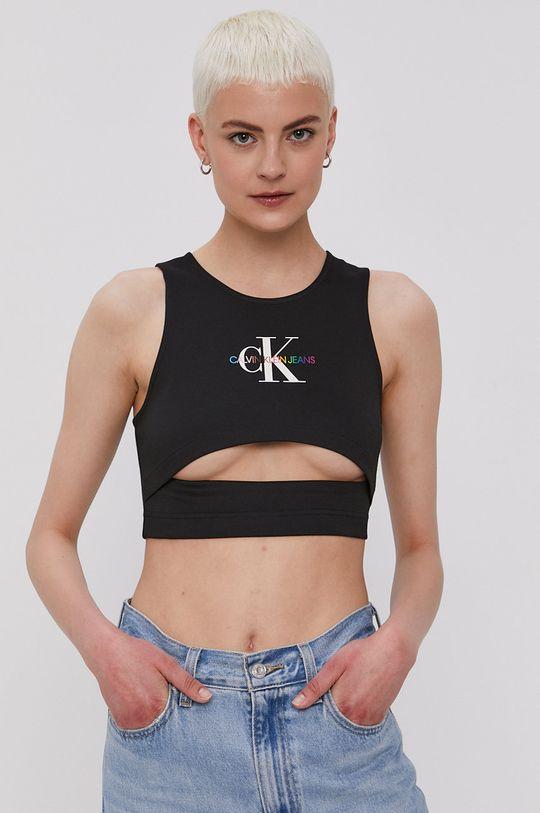 czarny Calvin Klein Jeans - Top