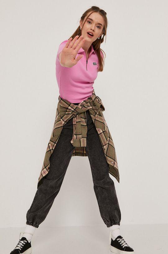 Vans - Tričko ružová