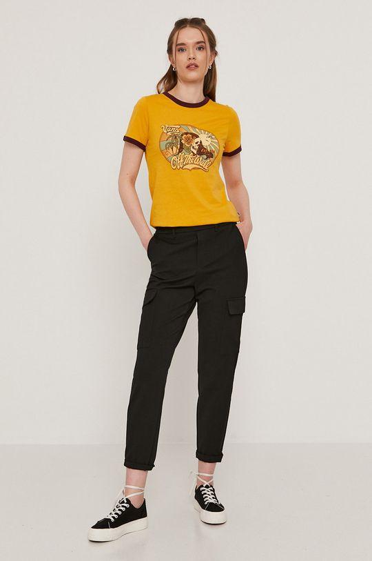 Vans - T-shirt pomarańczowy
