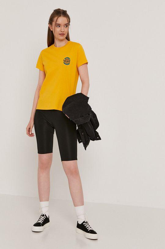 Vans - Tričko žltá