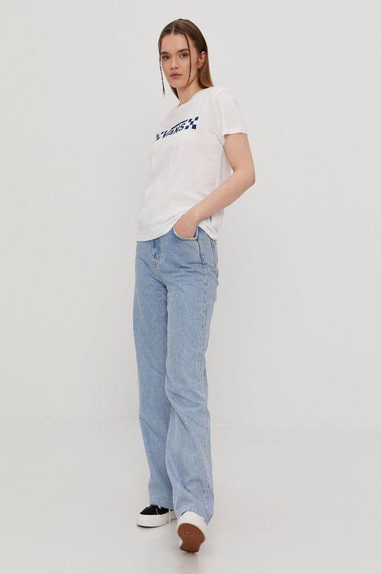 Vans - T-shirt biały
