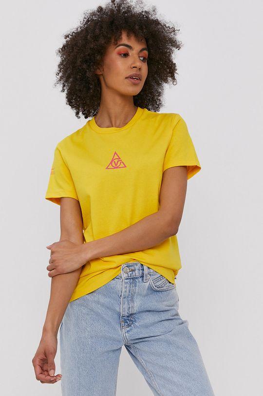 żółty Vans - T-shirt Damski