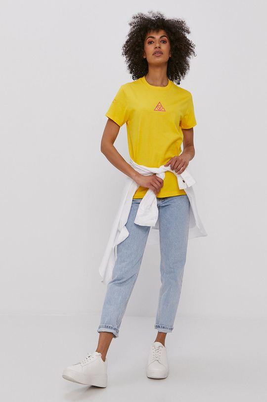 Vans - T-shirt żółty