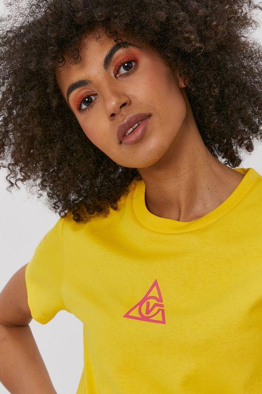 żółty Vans - T-shirt