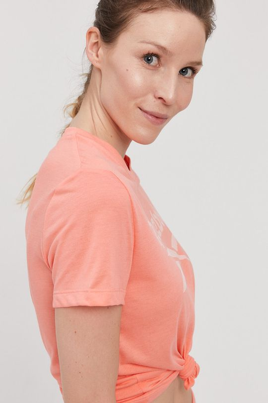 koralowy Reebok - T-shirt