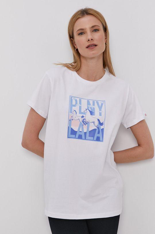 biały PLNY LALA - T-shirt Damski