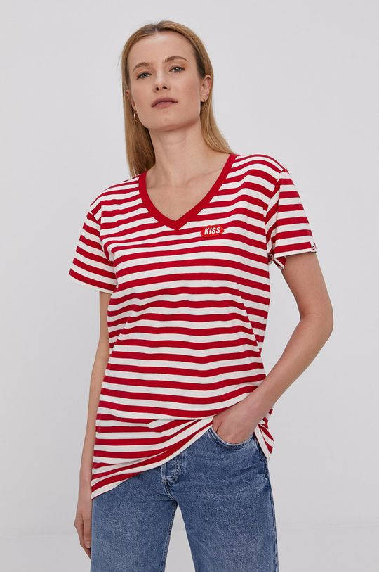 czerwony PLNY LALA - T-shirt