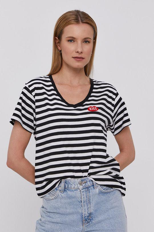czarny PLNY LALA - T-shirt Damski
