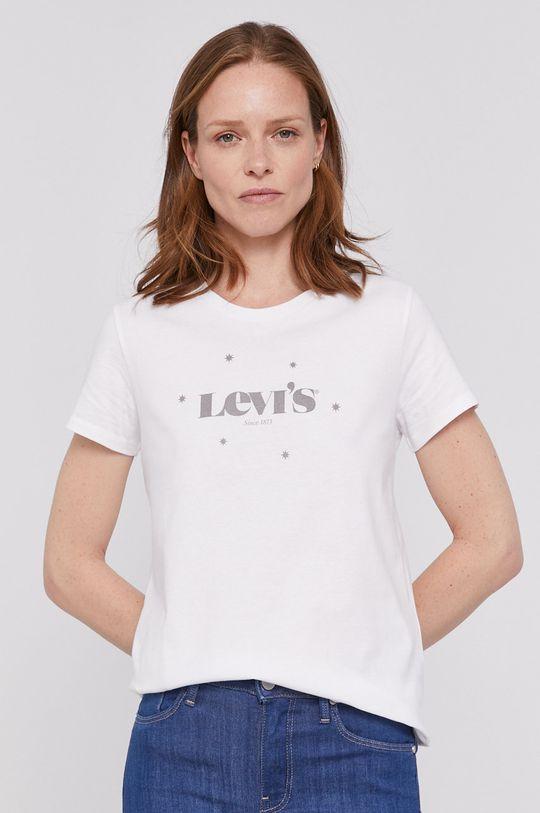 bílá Levi's - Tričko Dámský